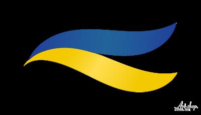 прапор України вектор