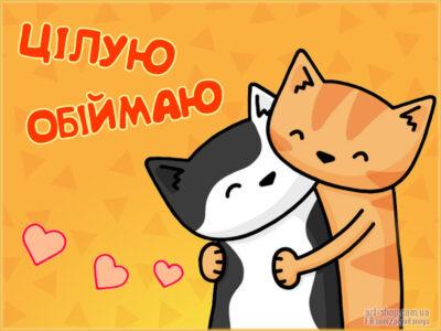 цілую обіймаю